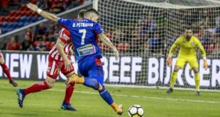 PHOTO GALLERY – A-LEAGUE – NEWCASTLE JETS V MELBOURNE CITY